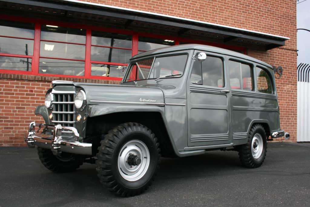 1953 Willys Wagon Hi Speed Customs